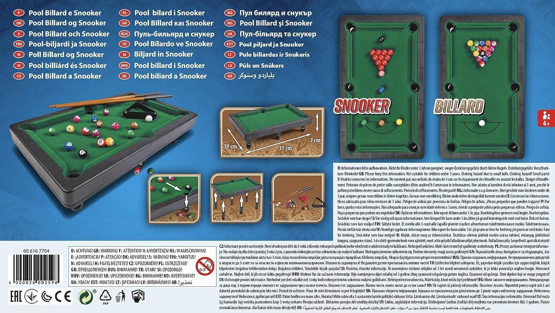 noris Pool Billiard & Snooker-Aktionsspiel für Die ganze Familie ...