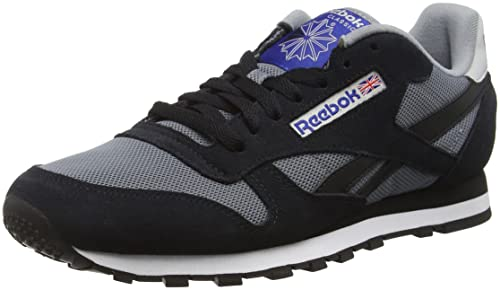 Reebok Classic Sport Clean, Zapatillas para Hombre, (Asteroid Dust/Black/Skull GRY/TM Drk Royal), 39 EU: Amazon.es: Zapatos y complementos