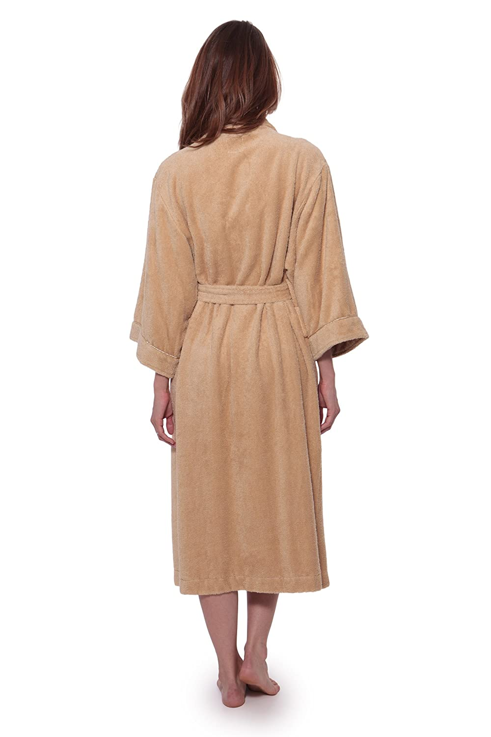 cee2730db6 Women s Luxury Terry Cloth Bathrobe - Bamboo Viscose Robe by Texere  (Ecovaganza) at Amazon Women s Clothing store