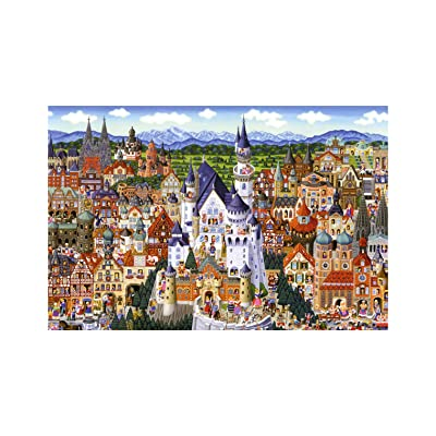[ Puzzle Life ] Germany | 1000 Piece Jigsaw Puzzle for Adults, Teens and Family: Toys & Games