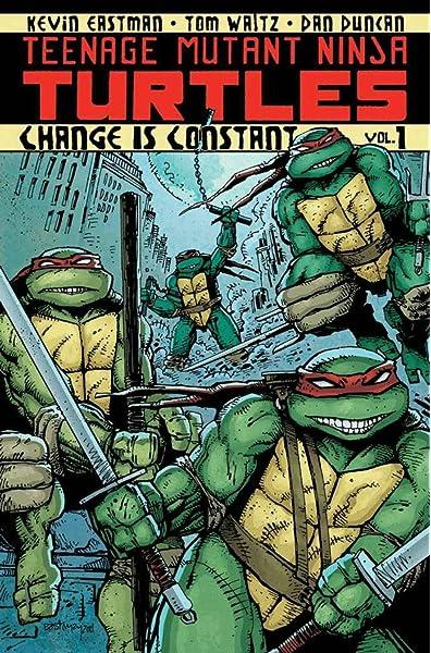 Amazon.com: Teenage Mutant Ninja Turtles Volume 1: Change is ...