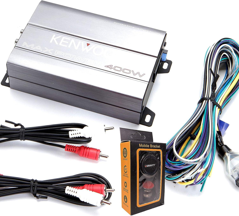 Kenwood Compact 4-channel Amplifier