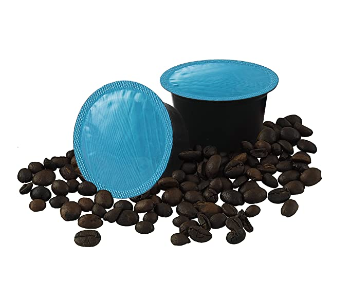 Cápsulas de café, 100 capsulas compatibles lavazza blue, paquete de 100 capsulas compatibles lavazza