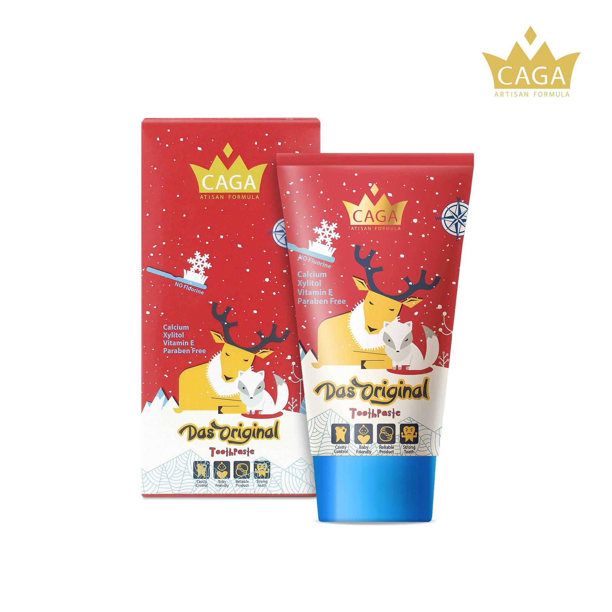 CAGA Baby & Kids Fluoride Fragrance – Free Toothpaste Das Original 50ml