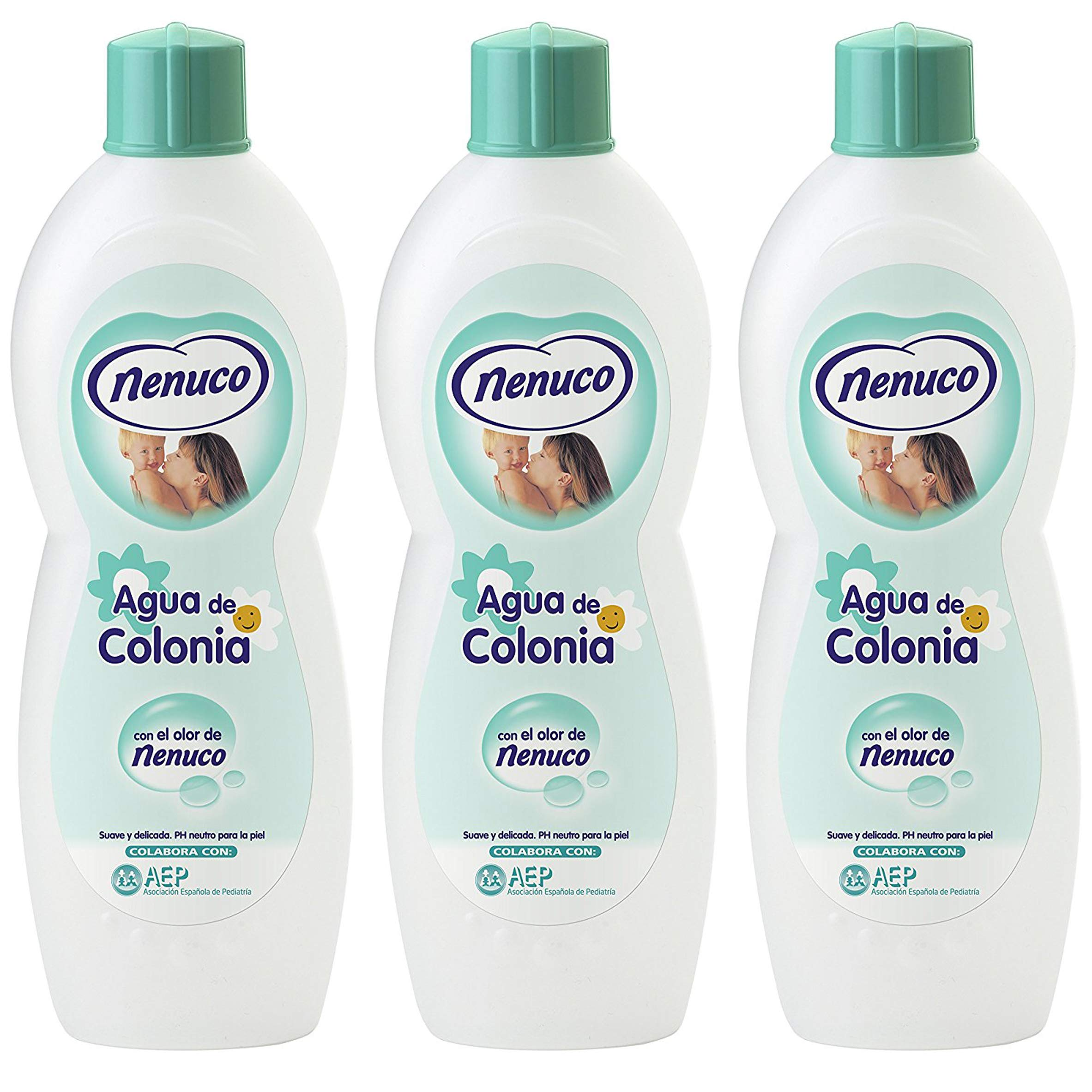 3 Nenuco Baby Cologne/agua De Colonia 20oz./600ml