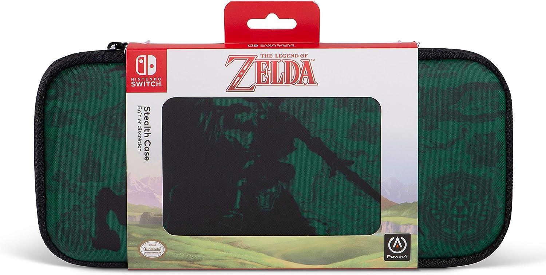 Estuche Discreto Para Legend Of Zelda, Verde (Nintendo Switch): Amazon.es: Videojuegos
