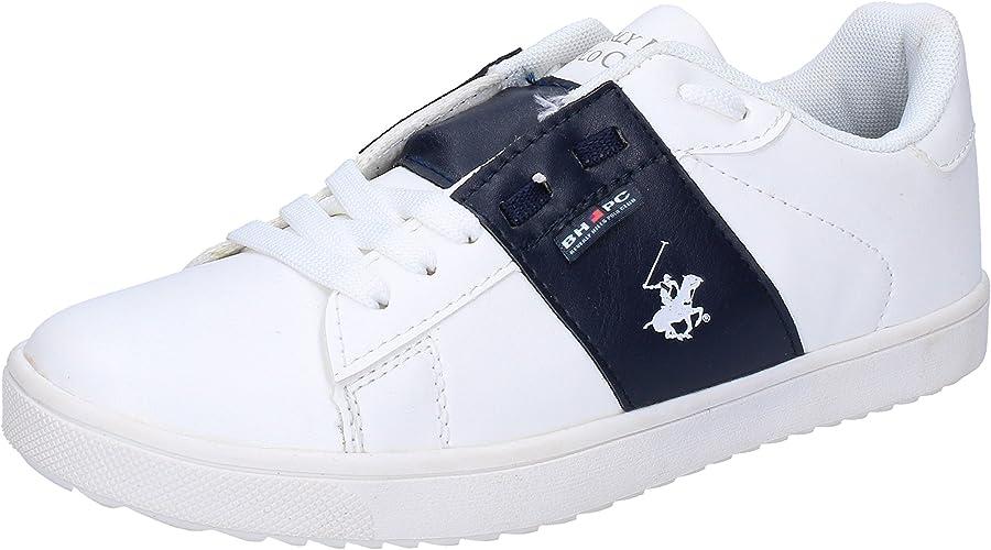 BEVERLY HILLS POLO CLUB - Zapatillas de Piel sintética para niño ...
