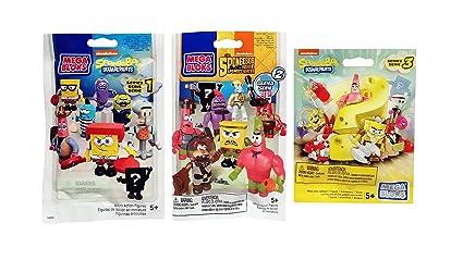 Mega Bloks Spongebob Series 5 Blind Bags
