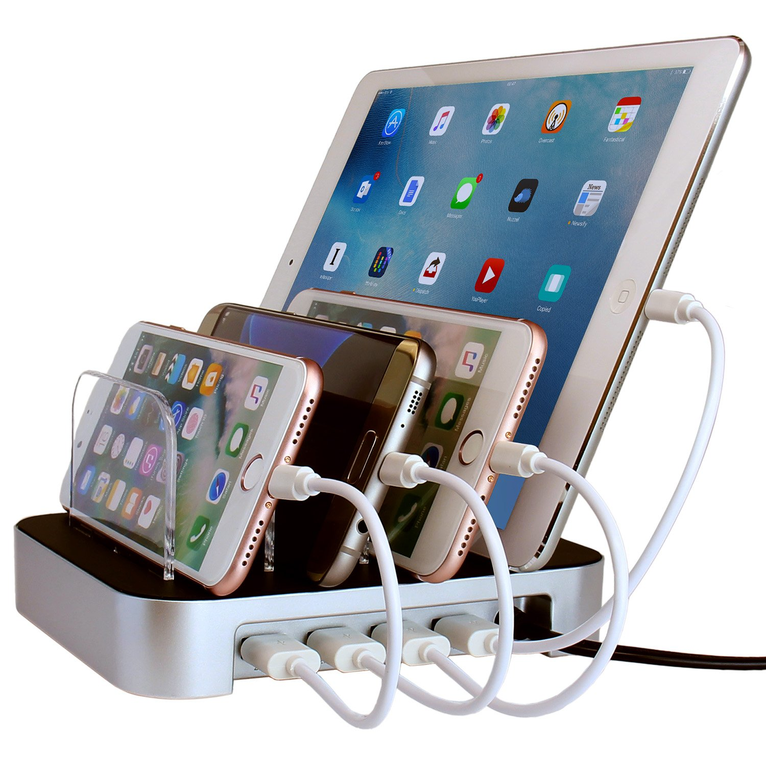 Lovely Amazon.com: Simicore USB Charging Station Dock U0026 Charging Stand Organizer  For Smartphones, Tablets U0026 Other Gadgets U2013 Multiple USB Charger Station U0026  Cell ...
