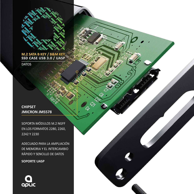 Primewire Aplic - Estuche SSD para Discos Duros M.2: Amazon.es ...