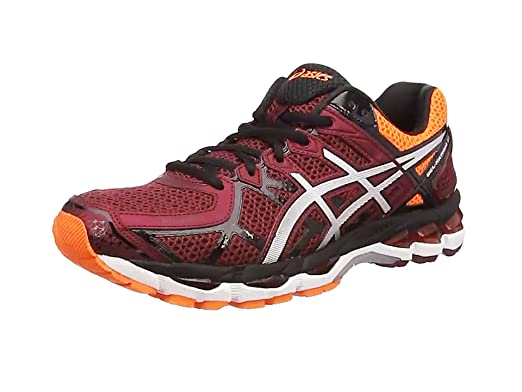 Asics Gel-Kayano 21, Zapatillas de Running Unisex, Negro Black Silver Flash Yellow 9093, 46 EU: Amazon.es: Zapatos y complementos