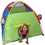 Kiddey Kids Play Tent & Playhouse – Indoor/Outdoor Playhouse for Boys and Girls – Promotes Early Learning, Social Bonding, Imagination Building and Roleplay – Easy Setup