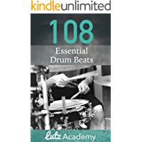 108 Essential Drum Beats: A Comprehensive Collection for All Levels book cover