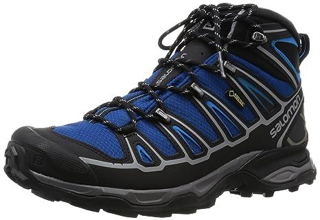 Salomon X ULTRA MID 2 GTX Blue Hiking Shoes