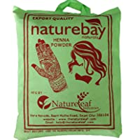 NatureBay Naturals 100% Pure Henna Powder(cloth filtered)(500gm)