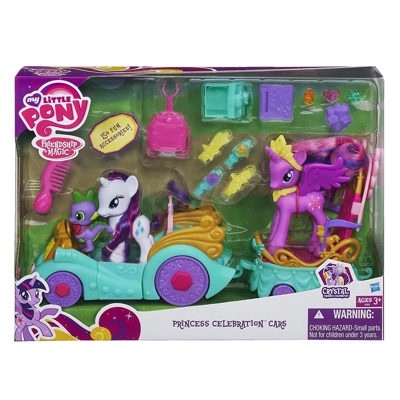 Amazon My Little Pony Princess Celebration Cars Set Toys Games