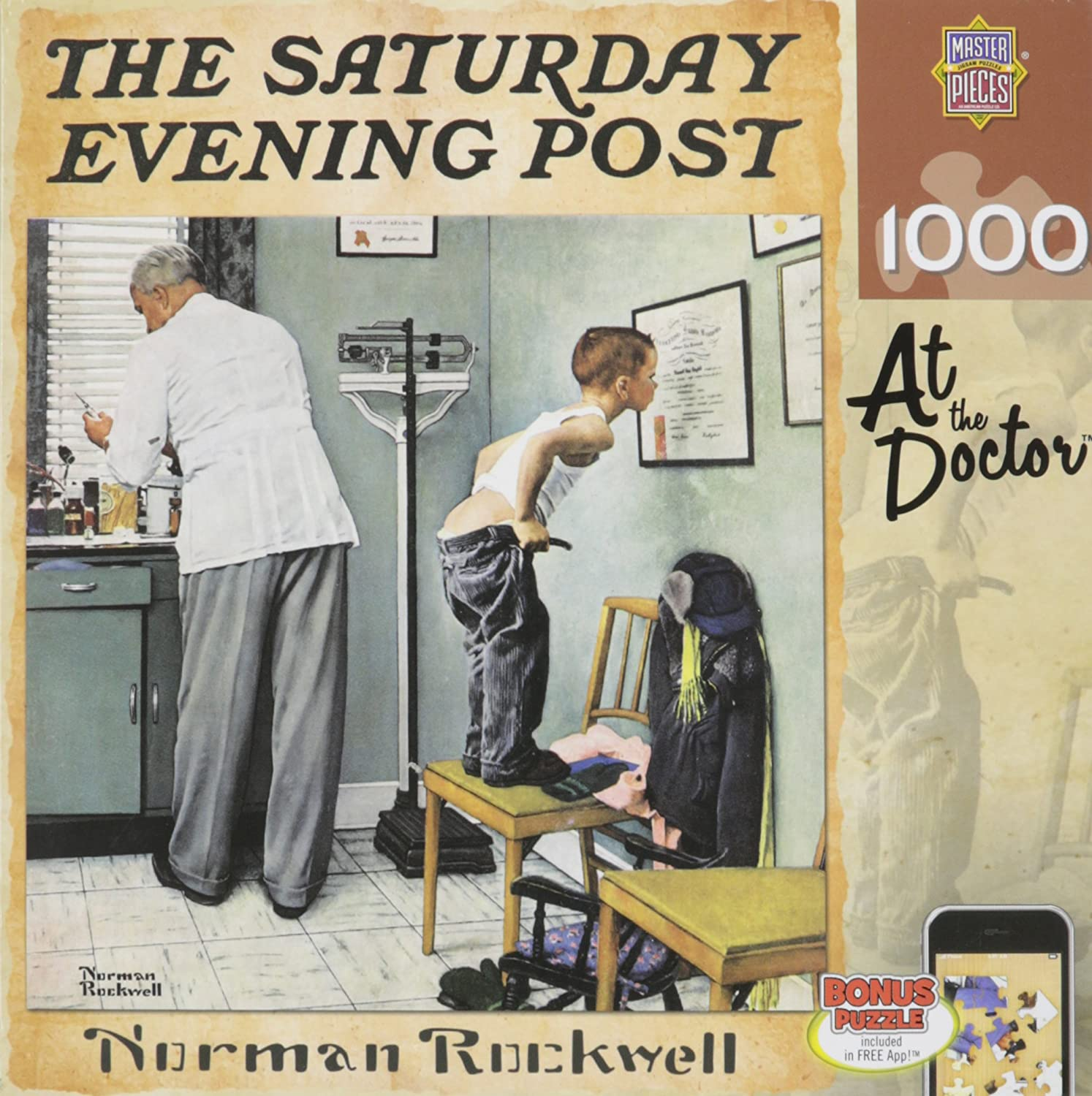 norman rockwell jigsaw puzzles adults