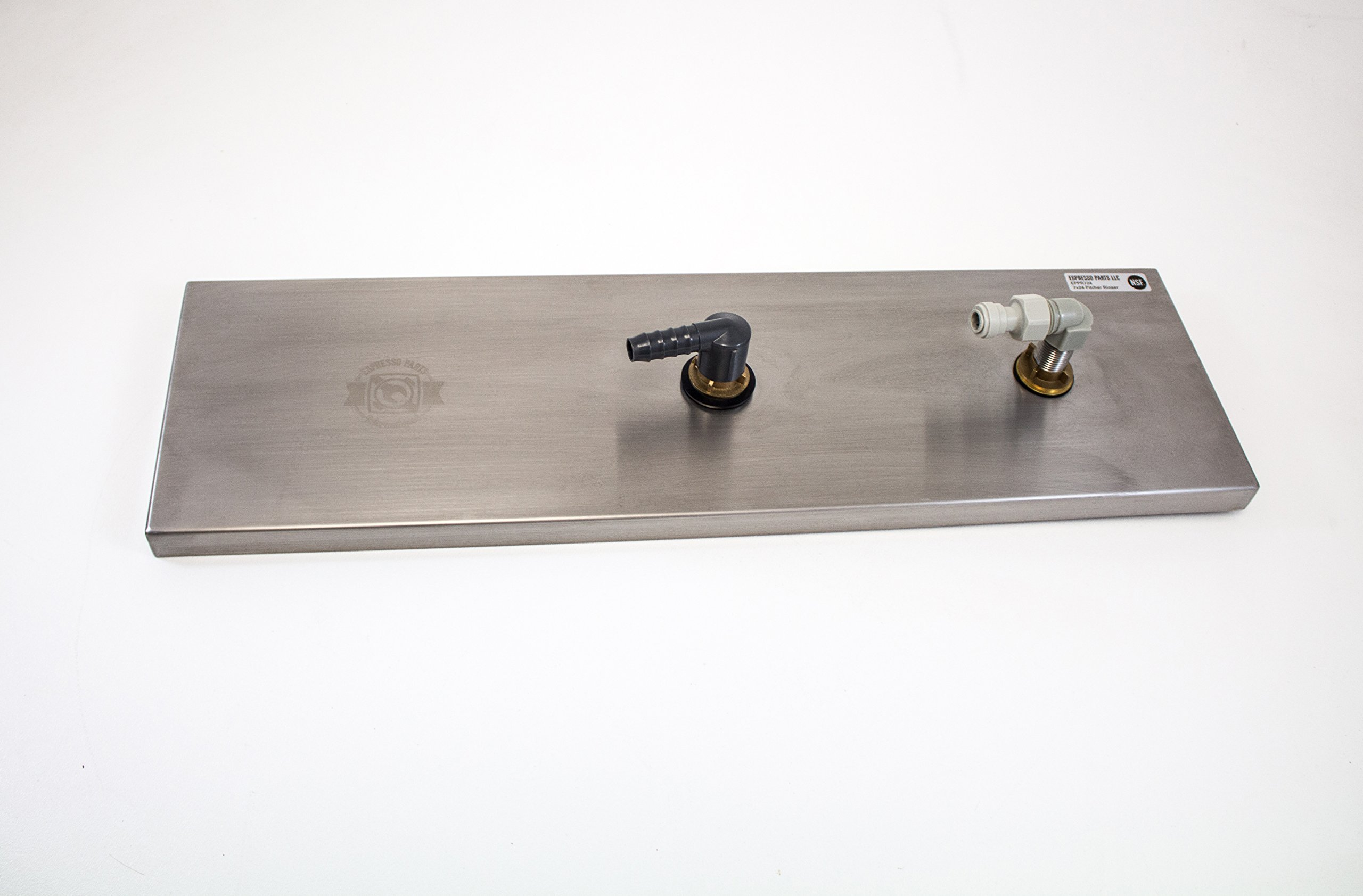 Espresso Parts EPPR724 NSF Approved Bar and Cafe Batch Rinser, 24'' Length, Stainless by EspressoParts (Image #6)