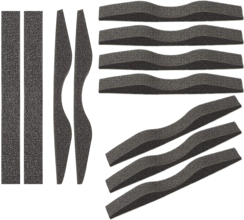 Almohadilla de Nariz Anti Niebla Espuma de Memoria de Microfibra Tira Protectora de Nariz Autoadhesiva Esponja de Puente de Nariz (50 Piezas)