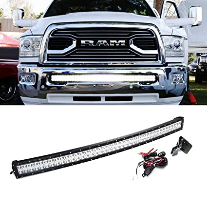Amazon ijdmtoy extremely bright 40 42 curved 240w high power ijdmtoy extremely bright 40quot 42quot curved 240w high power led light bar w aloadofball Choice Image
