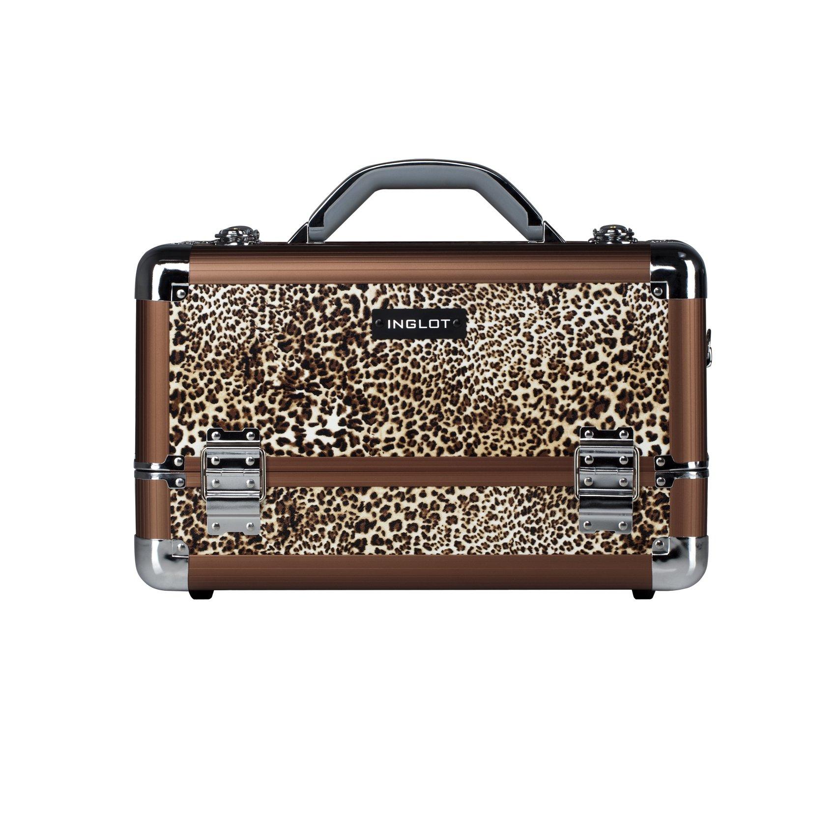 Inglot Inglot Makeup Case Leaopard Leather Pattern Kc-M34 by Inglot