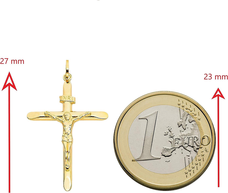 Amberta Ciondolo Unisex in Oro Giallo 9 Carati