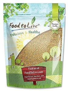 Fenugreek Seeds, 2.5 Pounds - Methi, Kosher