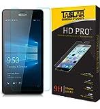 Taslar(TM) Premium Arc Edge Tempered Glass Screen Guard For Microsoft Lumia 950 (Transparent)