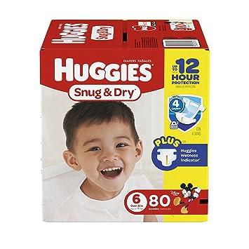 Huggies Snug And Dry Size 6