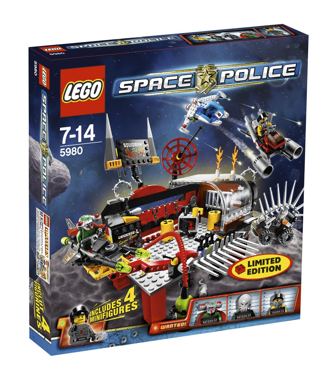 LEGO Space Police 5980 - Alien Werkstatt