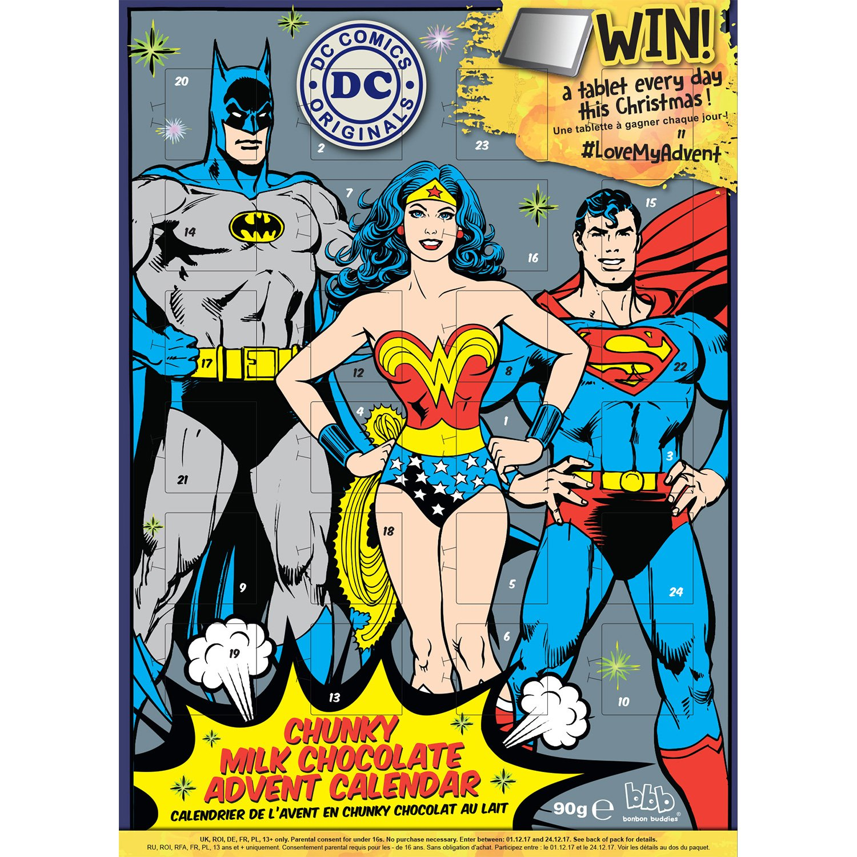 Amazon.de: DC Comics Premium Adventskalender Batman Superman ...