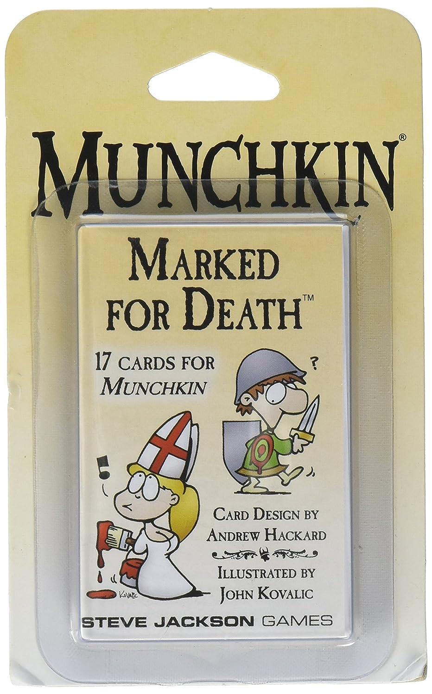 Steve Jackson Games sjg04210 – Munchkin Marked for Death, Juego de ...