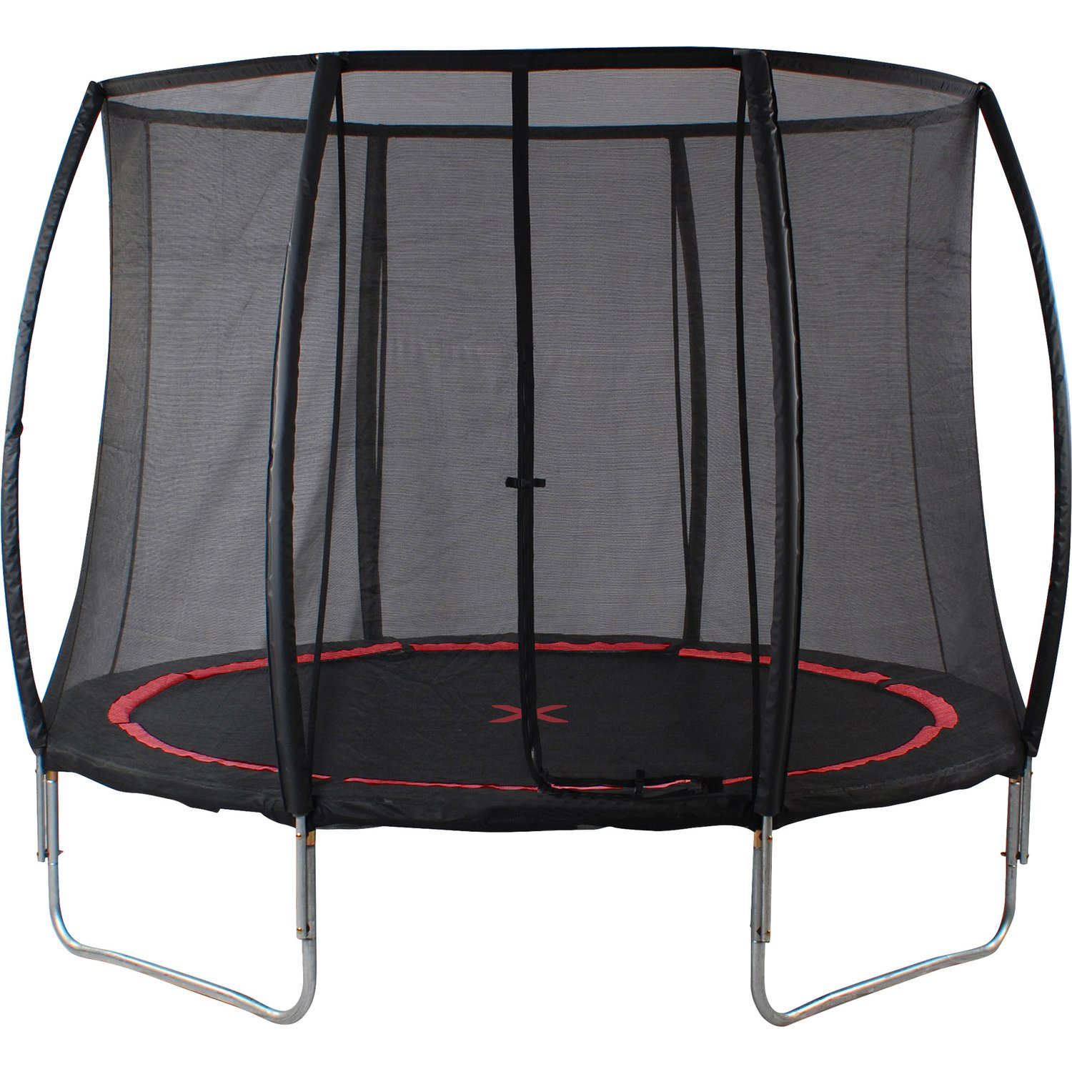 Cama elástica con red de seguridad, Black Spider.: Amazon.es ...