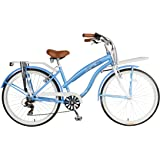 Hollandia F1 Land Cruiser Bike, 26 inch Wheels, 17 inch Frame, Women's Bike, Blue