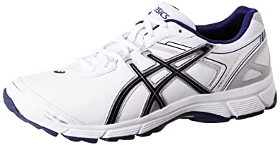 ASICS Mens Gel Quickwalk Sl White Navy and Silver Nordic Walking Shoes  11