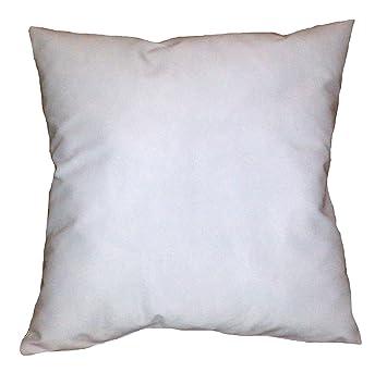 Amazon 28x28 Inch White Cotton Blend Zippered Square Throw