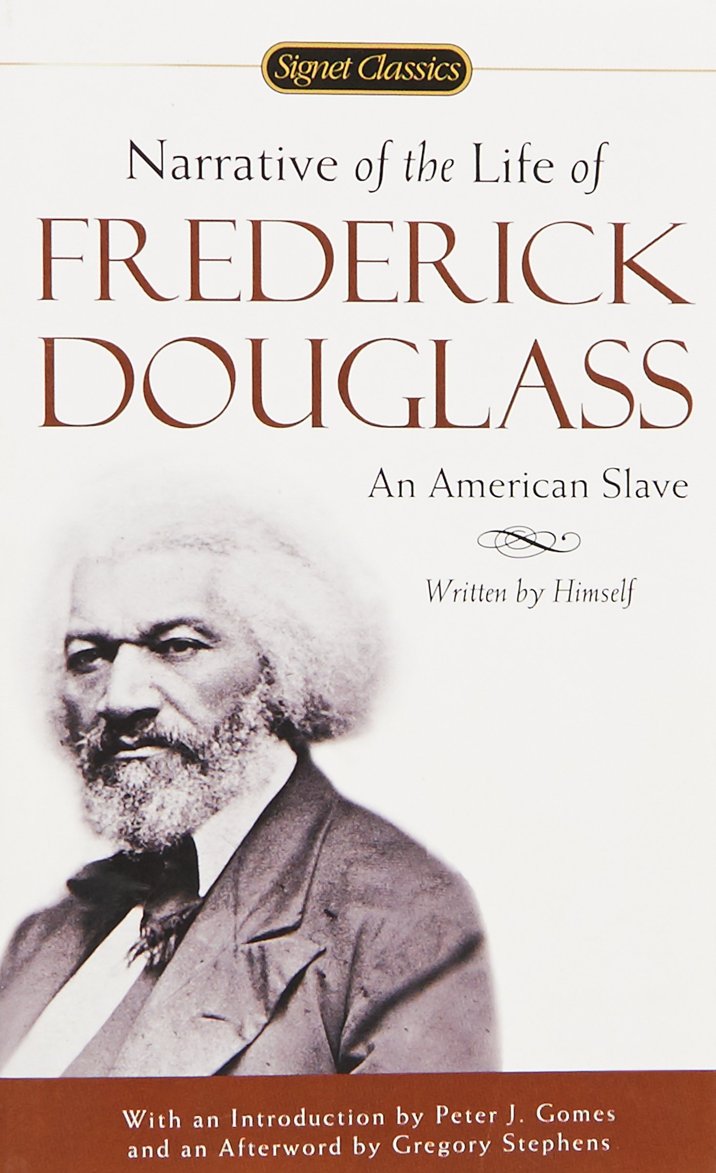 narrative of the life of frederick douglass signet classics  narrative of the life of frederick douglass signet classics frederick douglass peter j gomes gregory stephens 9780451529947 com books