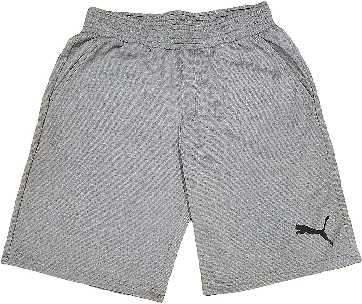 PUMA Mens P48 Core Shorts 10 French Terry