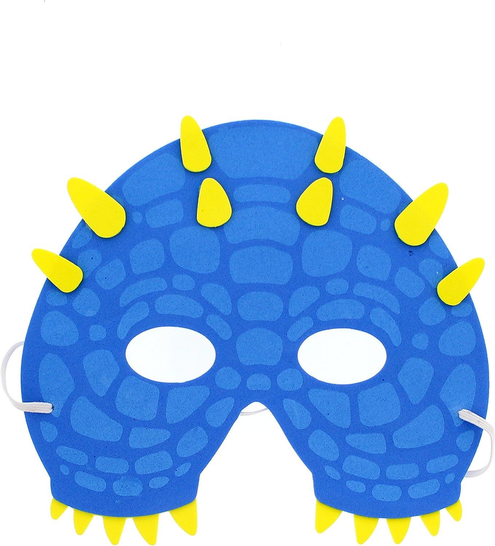 Zac/'s Alter Ego® Pack of 12 Assorted Fun Foam Masks for Children