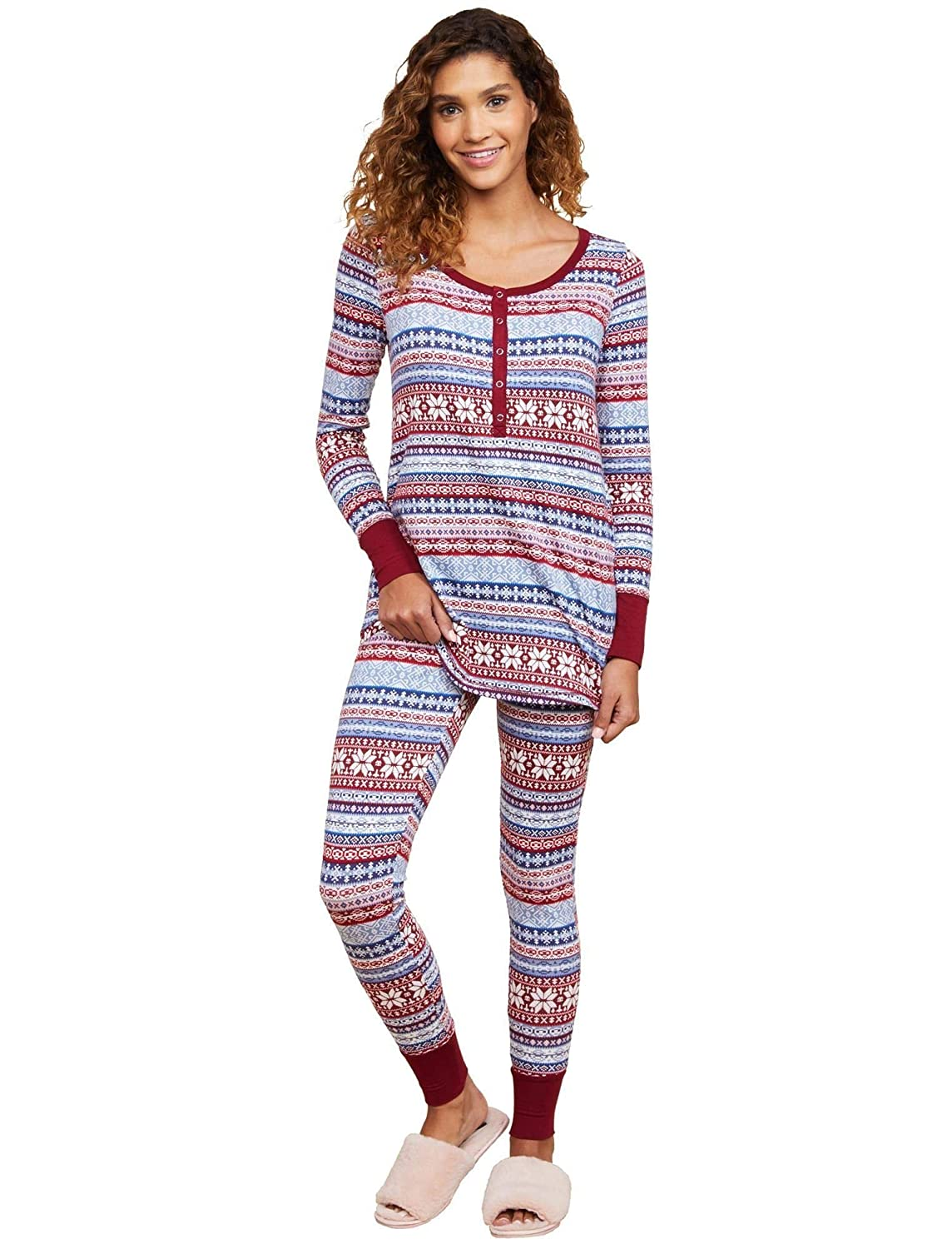 Motherhood Henley Maternity Pajama Set