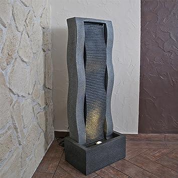 Pared de agua DSB14, fuente decorativa para dormitorio grande: Amazon.es: Hogar