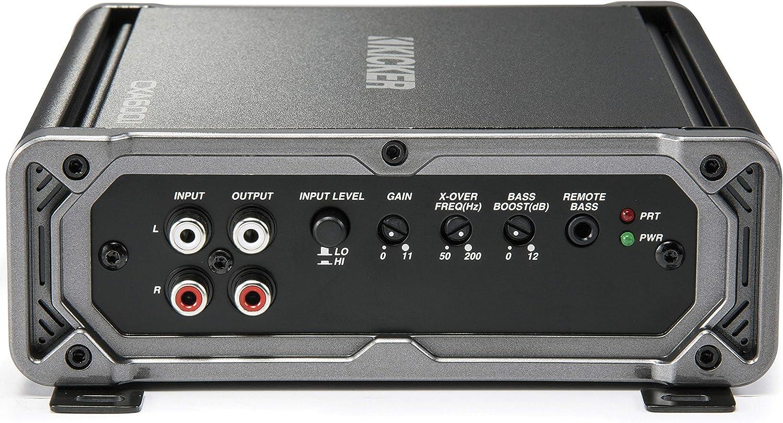 Kicker 43 cxa6001 classd Amplifier Negro: Amazon.es: Electrónica