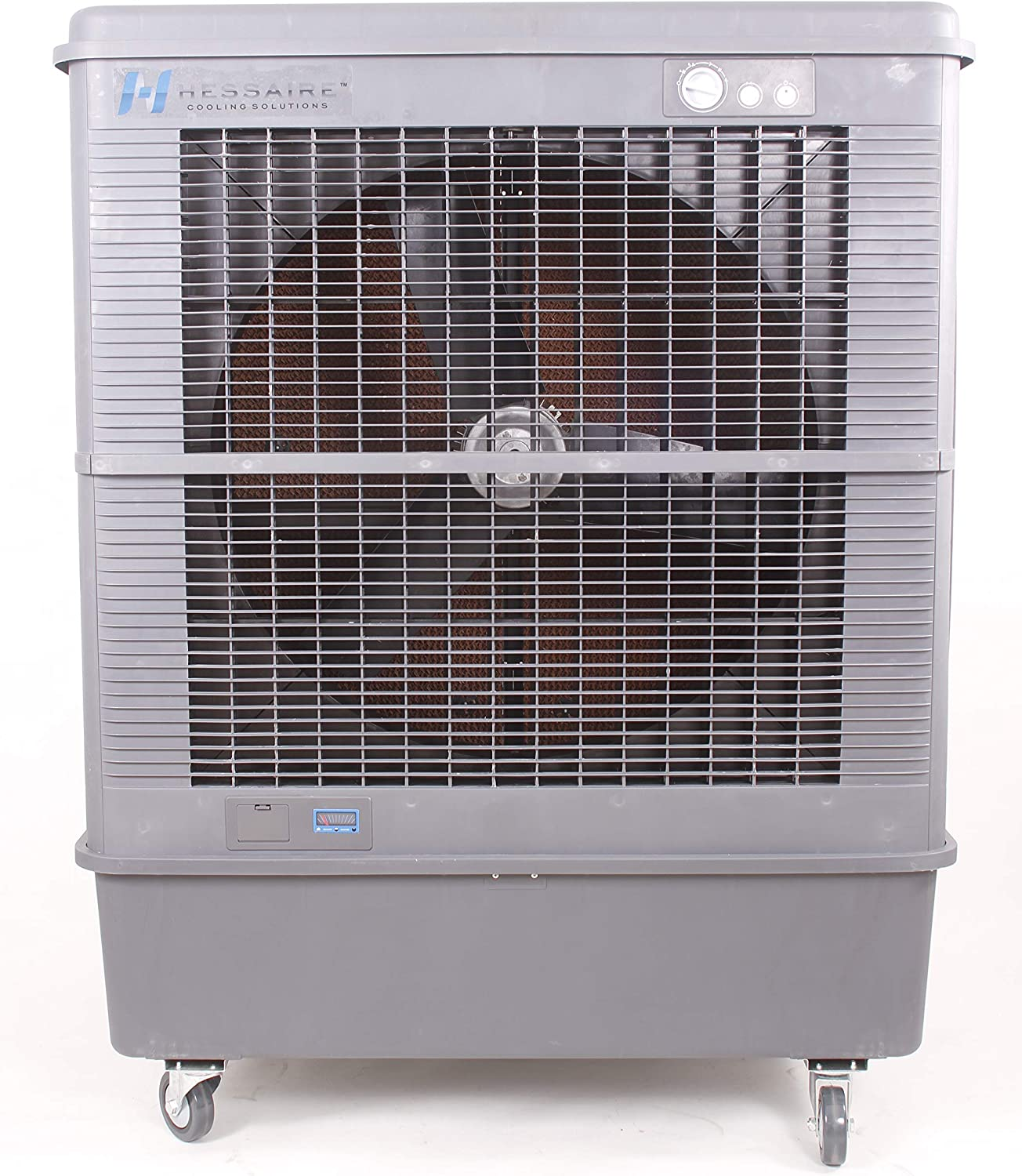 Amazon Com Hessaire Products Hessaire C92 Evaporative Cooler For 3 000 Sq Ft Gray Home Kitchen