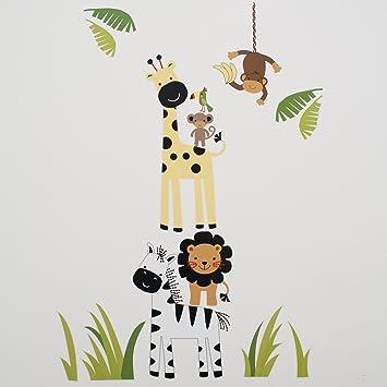 Amazon.com : Lambs & Ivy Peek A Boo Jungle Wall Appliques : Wall ...