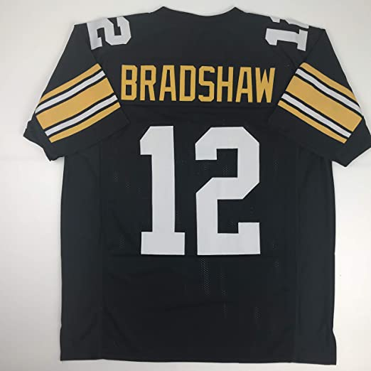 timeless design 0d9e5 7d29d Unsigned Terry Bradshaw Pittsburgh Black Custom Stitched Football Jersey  Size Men's XL New No Brands/Logos