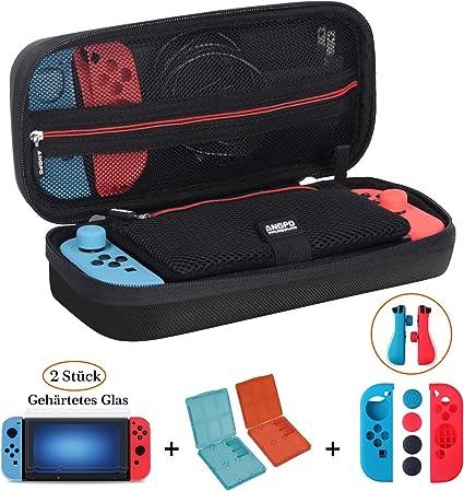 Nintendo Switch funda Kit Accesorios Sets 】 angpo® Nintendo ...