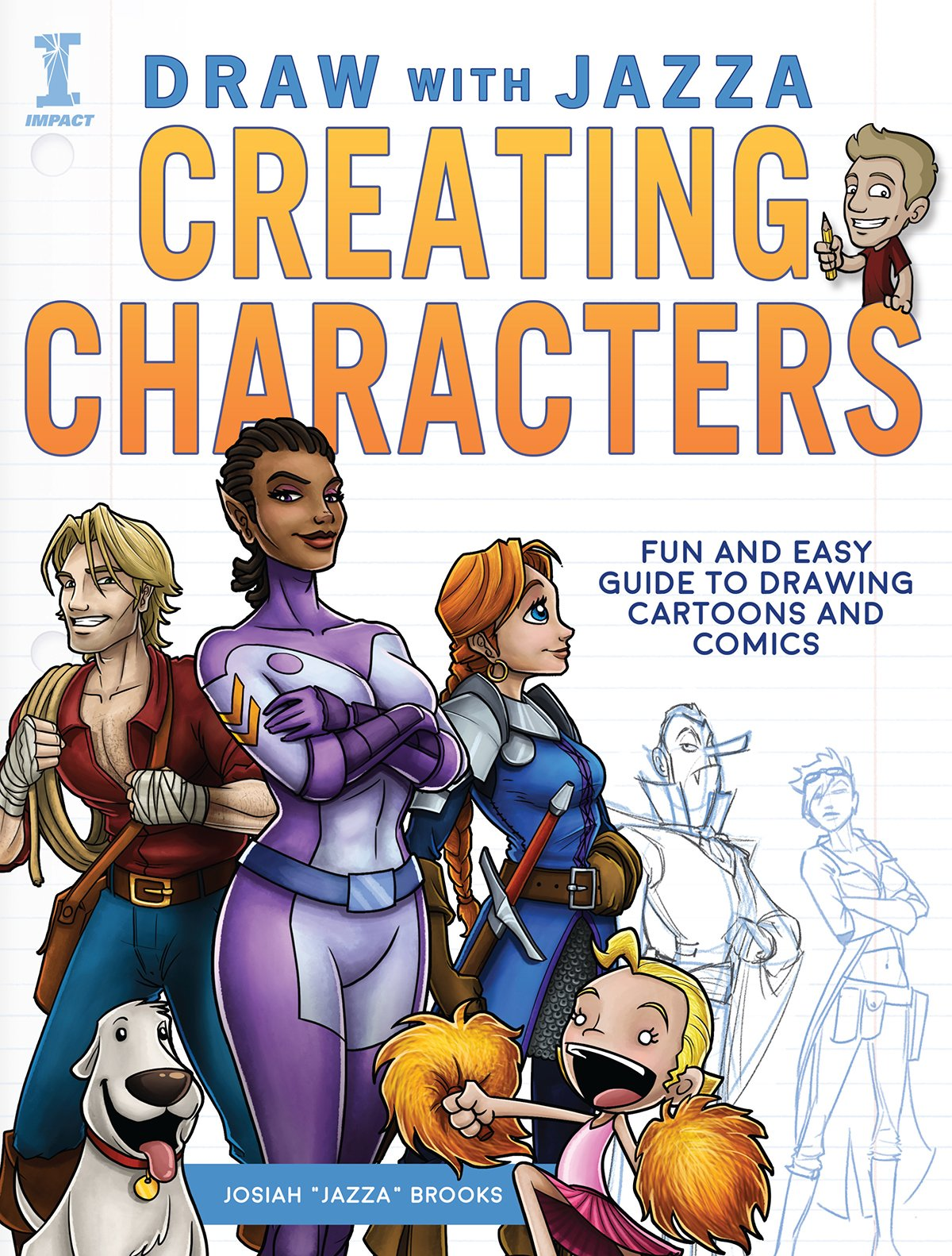 Amazon.com: Draw With Jazza - Creating Characters: Fun and Easy ...