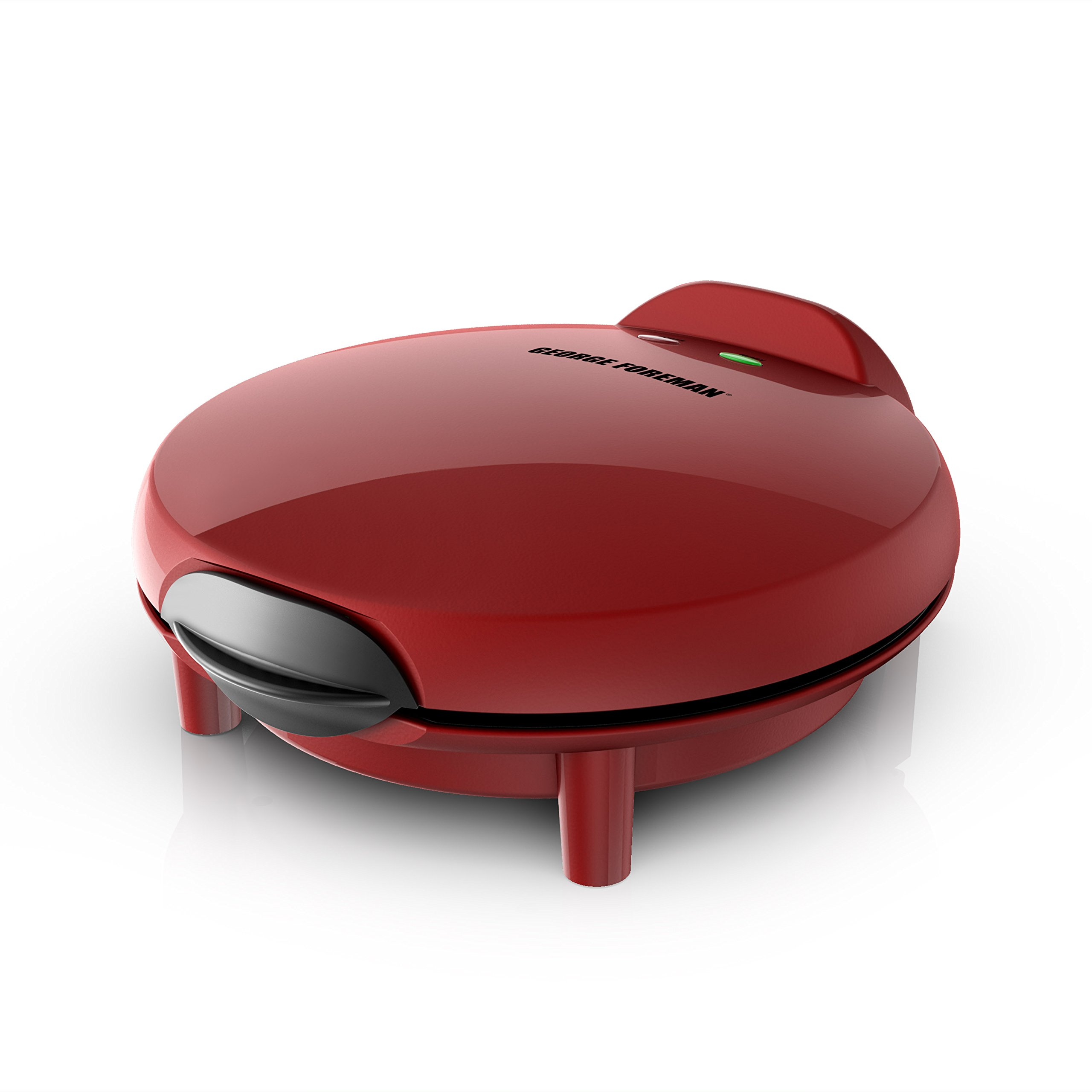 George Foreman Electric Quesadilla Maker, Red, GFQ001