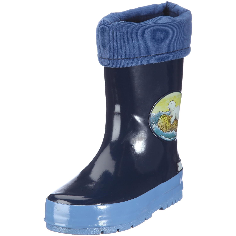 Beck dunkelblau Botas de caucho para niños