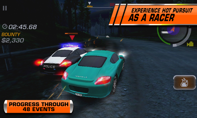Amazon Com Need For Speed Hot Pursuit Appstore For Android